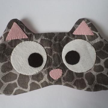 Máscara de dormir - modelo gatinho