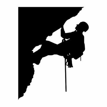 Adesivo De Parede Decorativo Alpinismo Alpinista Escalada