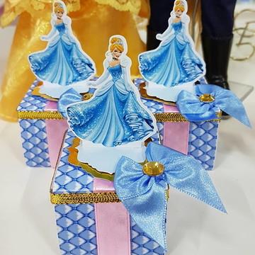 Caixinha Acrílica Princesas