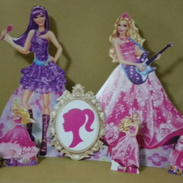 Kit Barbie Pop star