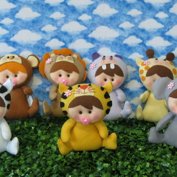 Boneca Baby Safari