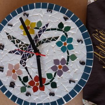 relogio mosaico