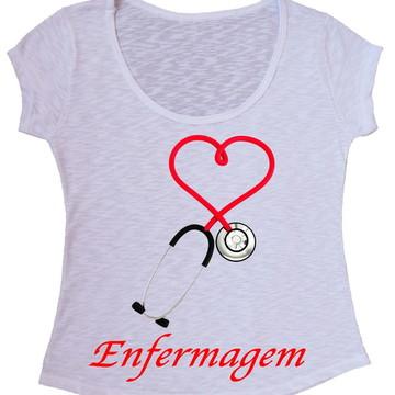 Blusa T-Shirt Enfermagem
