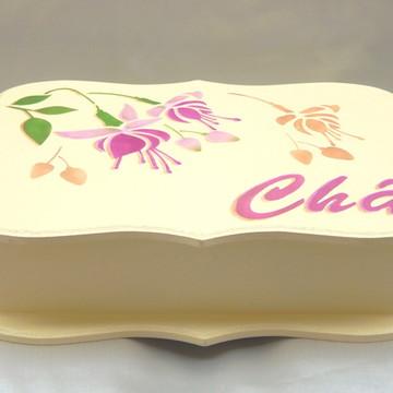 Caixa de Chá - Flor Brinco-de-Princesa