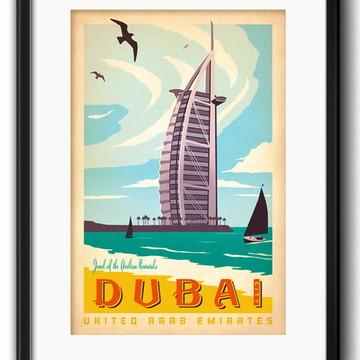 Quadro Dubai com Paspatur