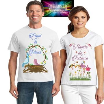 Kit 2 Camisetas Jardim Encantado