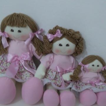 trio de boneca para nichos