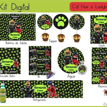 Kit Festa Digital Cat Noir