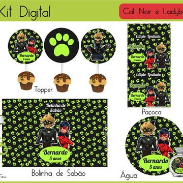 Kit Digital Cat Noir
