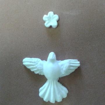 Divino Espírito Santo -com flor **
