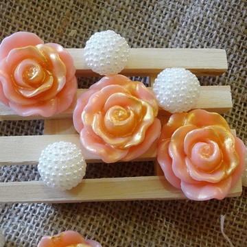 Sabonetes lembrancinhas mini-rosas