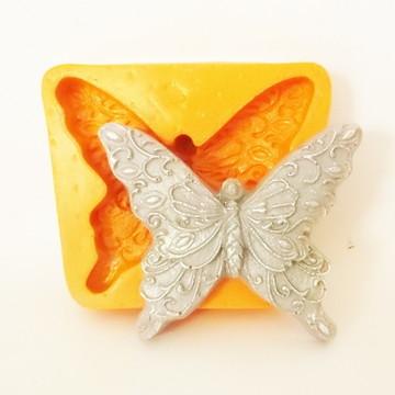 Borboleta Encantada - molde de silicone