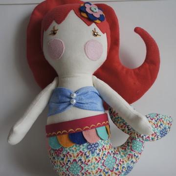 Boneca Serelepe Sereia