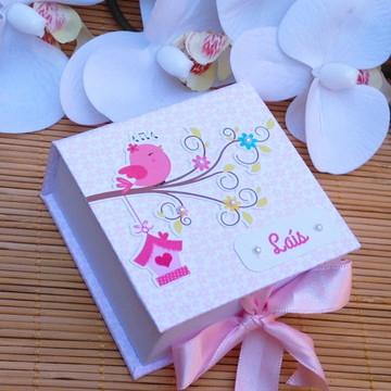 Lembrancinha Maternidade Passarinhos (kit costura)