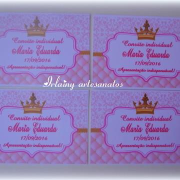 Convite Coroa individual