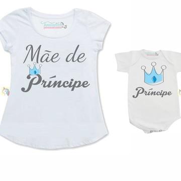 Kit Chá de bebê Mãe ,Pai de um príncipe