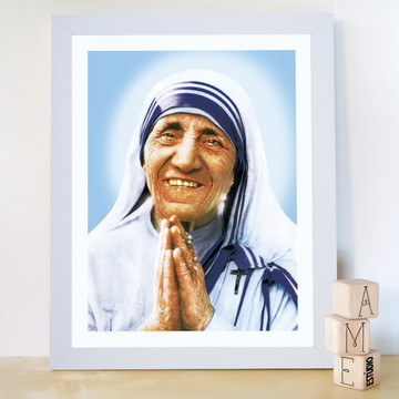Quadro Foto Santa Madre Tereza Calcutá