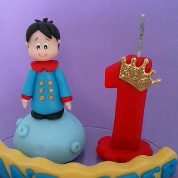 Topo bolo tema pequeno Príncipe