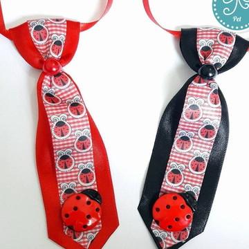 Gravata Pet - Joaninha