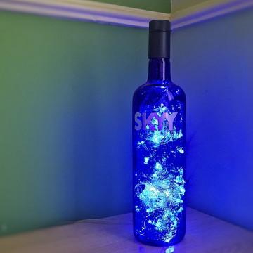 Luminária de garrafa SKYY