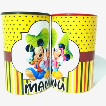 Festa Mickey Lembrancinha Cofre