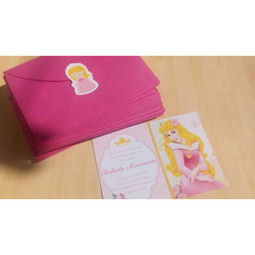 Convite Princesa Aurora