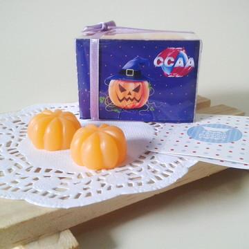 Lembrancinha Sabonete Abóbora Halloween