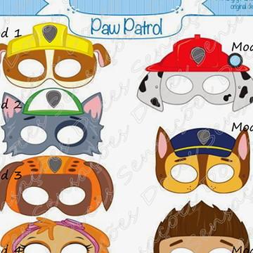 Mascaras infantil Patrulha Canina