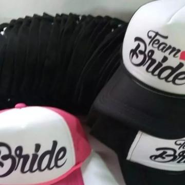 Kit 8 bonés trucker Bride Personalizados