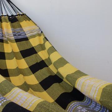 Rede de dormir Casal amarela