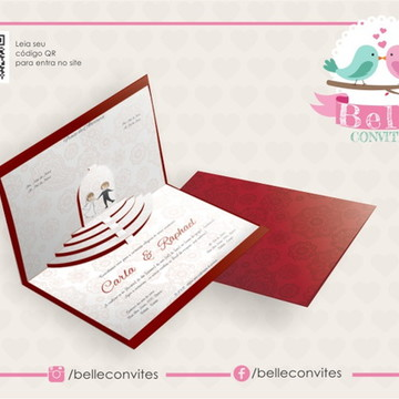 Convite De Casamento Especial 04