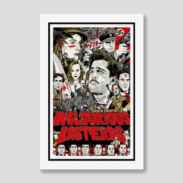 Quadro Bastardos Inglorios Cinema Filmes