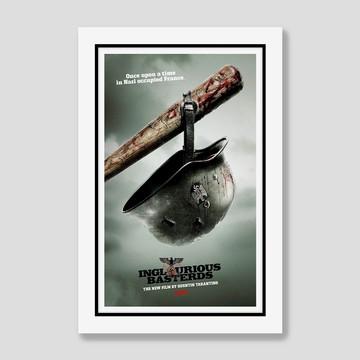 Quadro Bastardos Inglorios Filmes Cinema