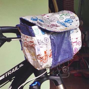 Bolsa para guidão de bicicleta