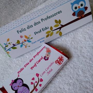 617de8390 Cinta para Chocolate Dia dos Professores