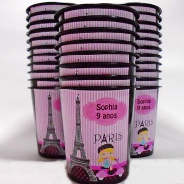 Baldinho de pipoca Paris