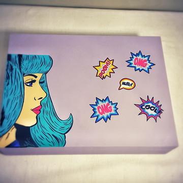 Caixa para Acessórios- Pop Art