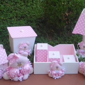 Kit para decoração de quarto de bebê