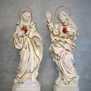 Sagrado Coração de Maria e Jesus