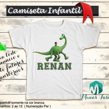 Camiseta O Bom Dinossauro