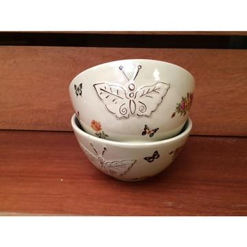 Bowl com Relevo Estampado Flores