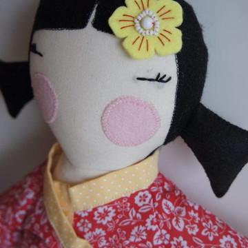Boneca Serelepe Japonesa