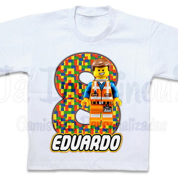 Camiseta Lego Personagens