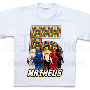 Camiseta Lego Ninjago Team