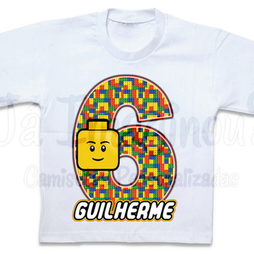 Camiseta Lego