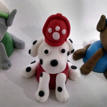 Trufas patrulha canina 3D