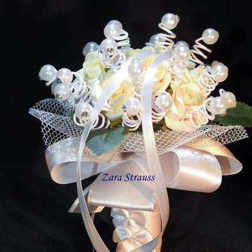 Bouquet Daminha/Porta Aliança