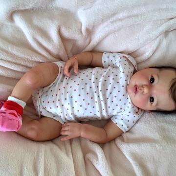Bebê reborn Lorena 2016. ADOTADA!!