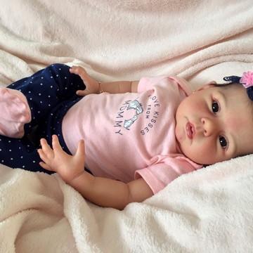 Bebê reborn Geovanna 2016. ADOTADA!!