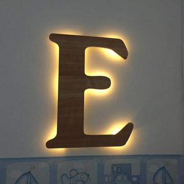Letra Luminária LED MDF